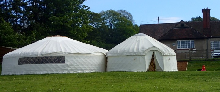Amenity Field Levelled for Yurt